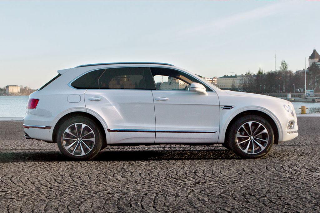 Bentley Bentayga Hybrid koeajopäivät 14.-15.2.2020